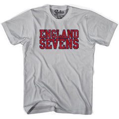 England Seven Rugby T-shirt in Cool Grey by Ruckus Rugby
