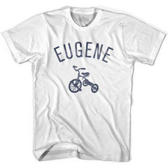 Eugene City Tricycle Womens Cotton T-shirt by Ultras