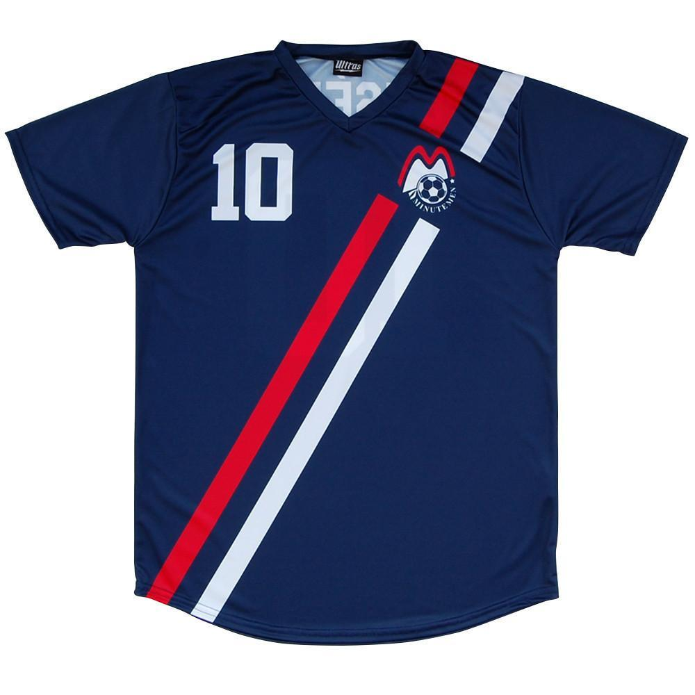 Boston Minutemen Eusebio Soccer Jersey in Navy by Ultras