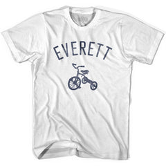 Everett City Tricycle Youth Cotton T-shirt by Ultras