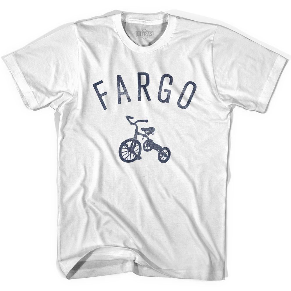 Fargo City Tricycle Youth Cotton T-shirt by Ultras