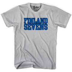 Finland Sevens Rugby T-shirt in Cool Grey by Ruckus Rugby