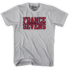 France Seven Rugby Nations T-shirt in Cool Grey by Ruckus Rugby