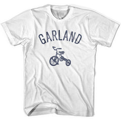 Garland City Tricycle Womens Cotton T-shirt by Ultras