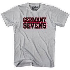 Germany Sevens (Navy Version) Rugby T-shirt in Cool Grey by Ruckus Rugby