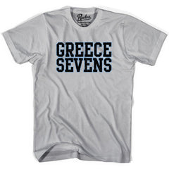 Greece Sevens Rugby T-shirt in Cool Grey by Ruckus Rugby