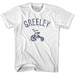 Greeley City Tricycle Youth Cotton T-shirt by Ultras