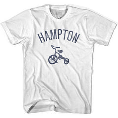 Hampton City Tricycle Youth Cotton T-shirt by Ultras