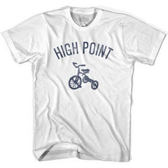 High Point City Tricycle Youth Cotton T-shirt by Ultras