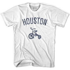 Houston City Tricycle Womens Cotton T-shirt by Ultras