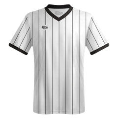 Ultras Custom Impact Vertical Team Soccer Jersey in Black/White by Ultras