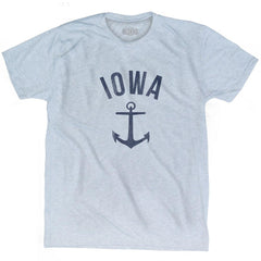 Iowa State Anchor Home Tri-Blend Adult T-shirt by Ultras