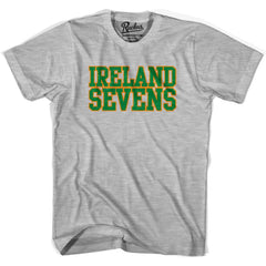 Ireland Seven Rugby Nations T-shirt in Cool Grey by Ruckus Rugby