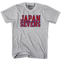 Japan Seven Rugby Natons T-shirt in Cool Grey by Ruckus Rugby