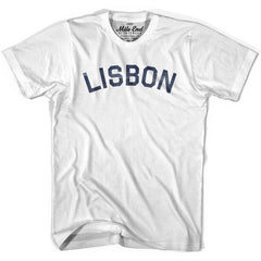 Lisbon City Vintage T-shirt in Grey Heather by Mile End Sportswear