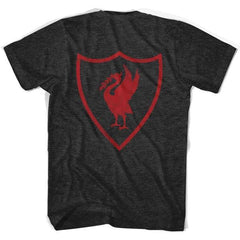 Liverpool Liverbird Crest T-shirt in Tri-Black by Ultras