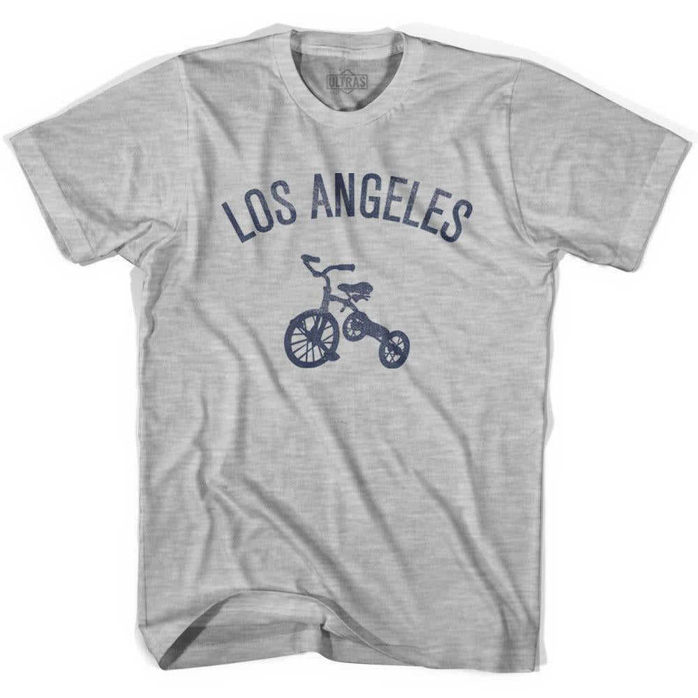 Los Angeles City Tricycle Womens Cotton T-shirt by Ultras