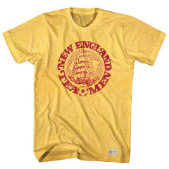 Lipton Tea Men Vintage Soccer T-shirt in Sunshine Heather by Ultras