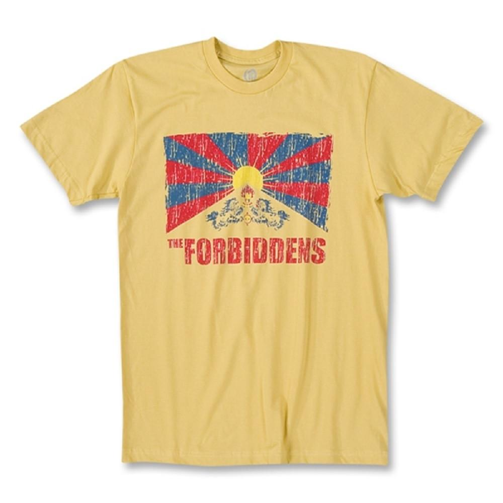 Tibet The Forbiddens Flag T-Shirt in Dijon by Neutral FC