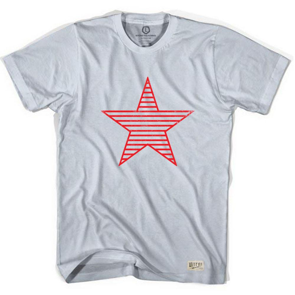 Sparta Star Soccer T-shirt in Cool Grey by Ultras