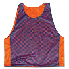 Royal and Orange Reverisble Lacrosse Pinnie in Royal & Orange by Tribe Lacrosse