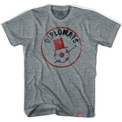 Washington Diplomats Soccer T-shirt in Athletic Grey by Ultras