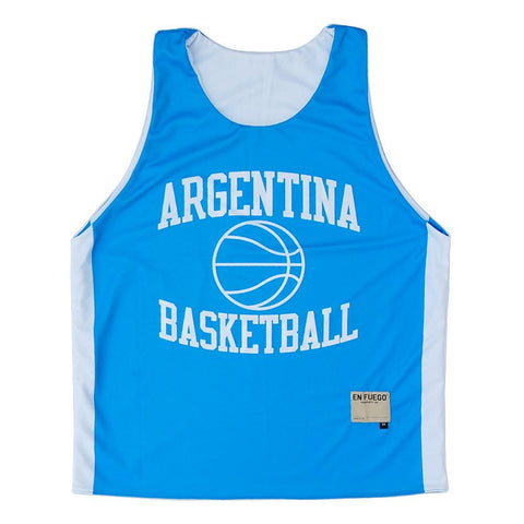 Argentina Basketball Sublimated Reversible