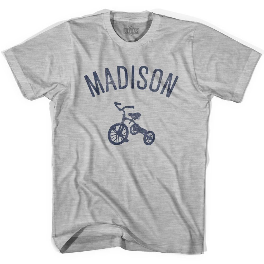 Madison City Tricycle Youth Cotton T-shirt by Ultras