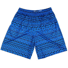 Maori Royal Lacrosse Shorts in Royal by Tribe Lacrosse