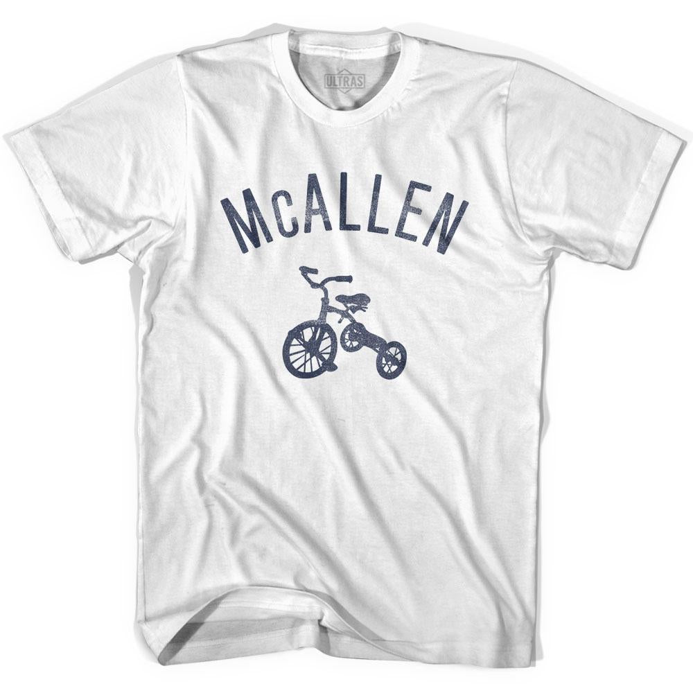 McAllen City Tricycle Youth Cotton T-shirt by Ultras
