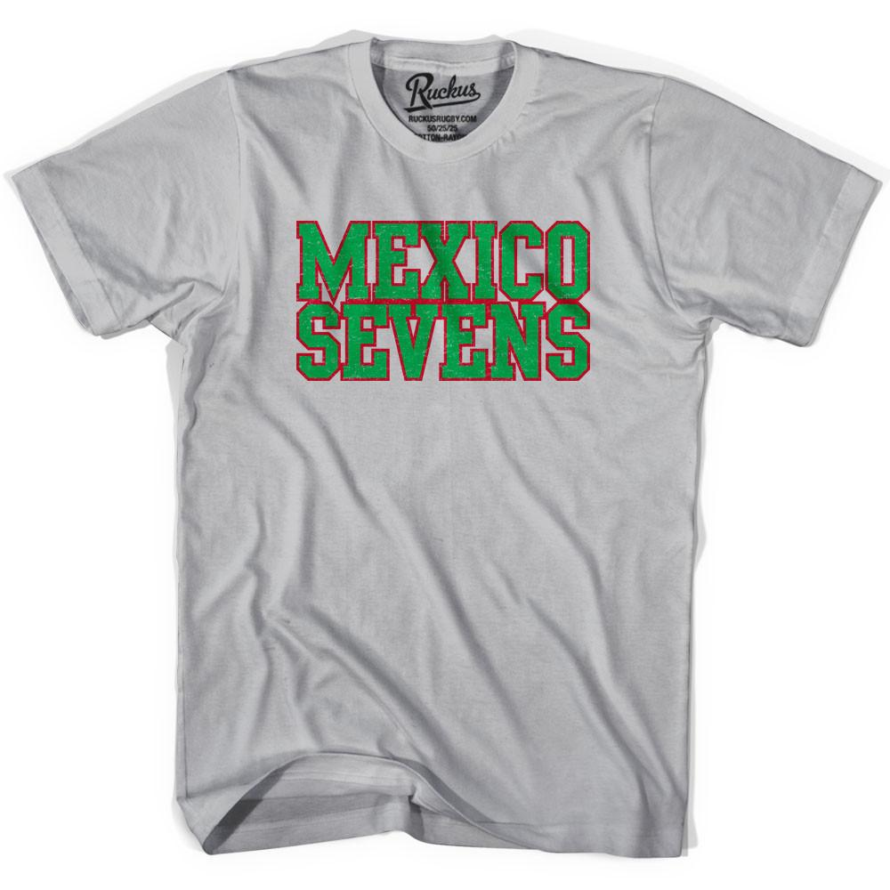 Mexico Seven Rugby T-shirt in Cool Grey by Ruckus Rugby