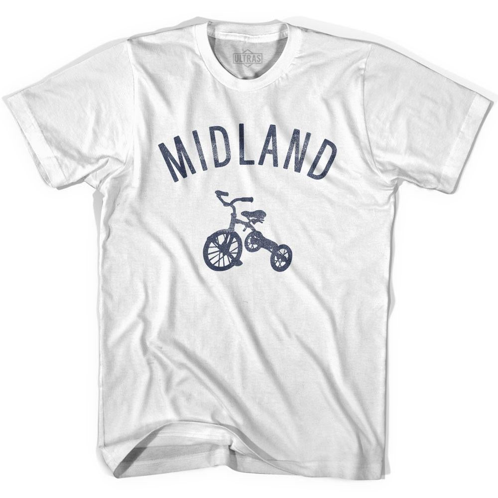 Midland City Tricycle Youth Cotton T-shirt by Ultras