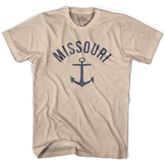 Missouri State Anchor Home Cotton Adult T-shirt by Ultras