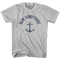 New Hampshire State Anchor Home Cotton Adult T-shirt by Ultras