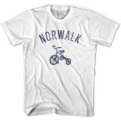 Norwalk City Tricycle Youth Cotton T-shirt by Ultras