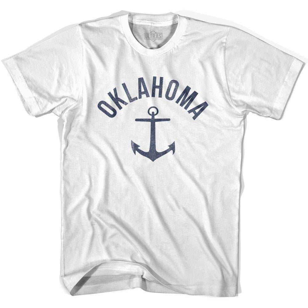 Oklahoma State Anchor Home Cotton Womens T-shirt by Ultras