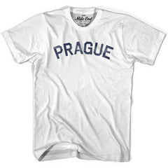 Prague City Vintage T-shirt in Grey Heather by Mile End Sportswear