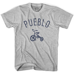 Pueblo City Tricycle Womens Cotton T-shirt by Ultras