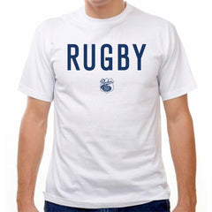 Rugby T-shirt in White by Ruckus Rugby