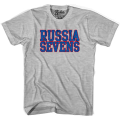 Russia Seven Rugby Nations T-shirt in Cool Grey by Ruckus Rugby