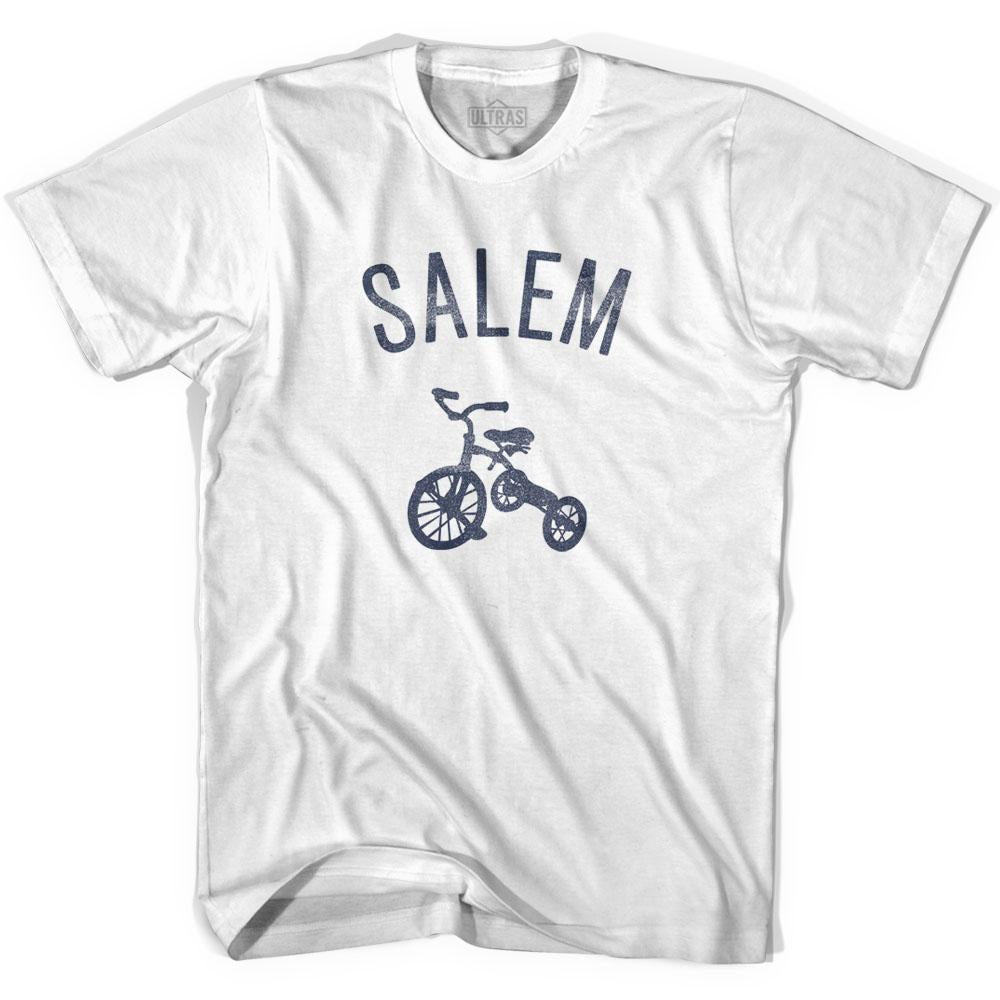 Salem City Tricycle Womens Cotton T-shirt by Ultras