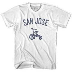 San Jose City Tricycle Womens Cotton T-shirt by Ultras