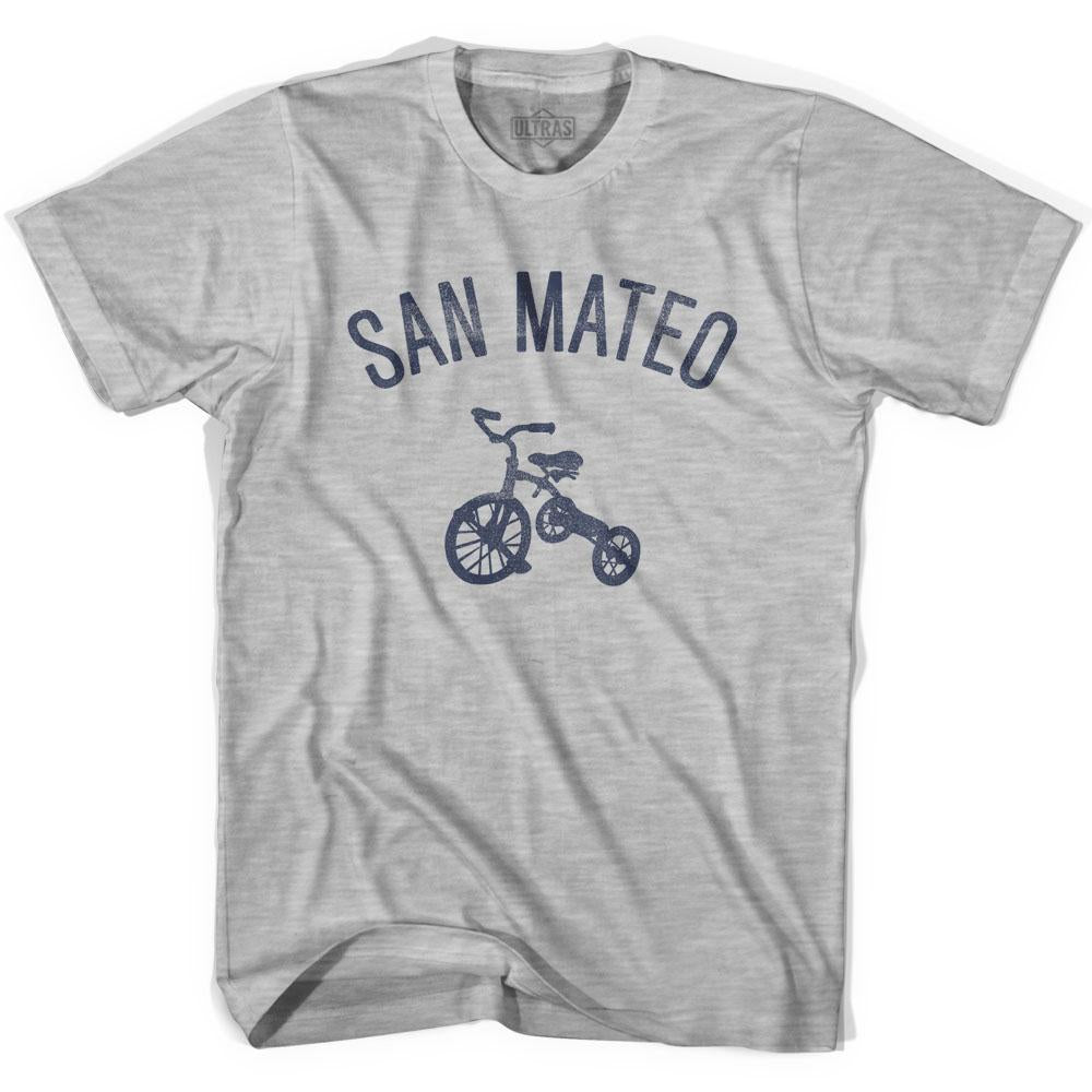 San Mateo City Tricycle Womens Cotton T-shirt by Ultras