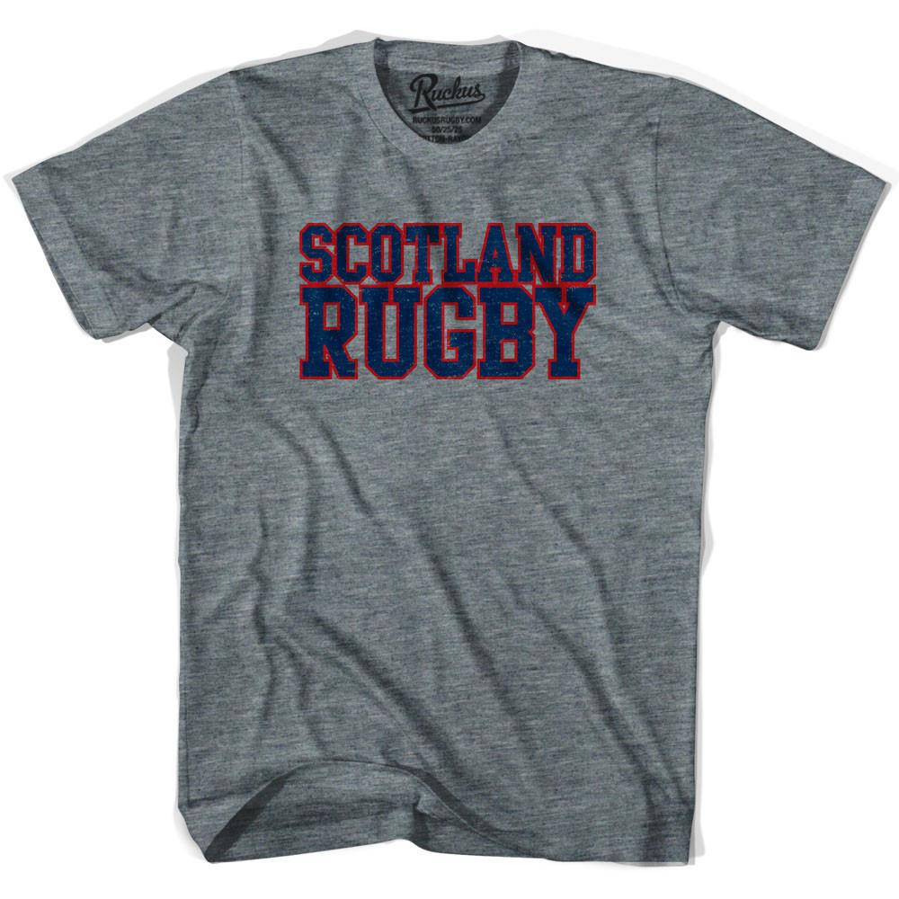 Scotland Rugby Nations T-shirt in Athletic Grey by Ruckus Rugby