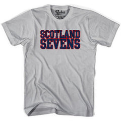 Scotland Sevens Rugby T-shirt in Cool Grey by Ruckus Rugby