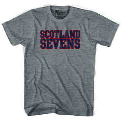 Scotland Sevens Rugby T-shirt in Athletic Grey by Ruckus Rugby
