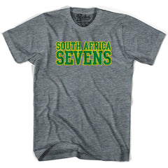 South Africa Sevens Rugby T-shirt in Athletic Grey by Ruckus Rugby