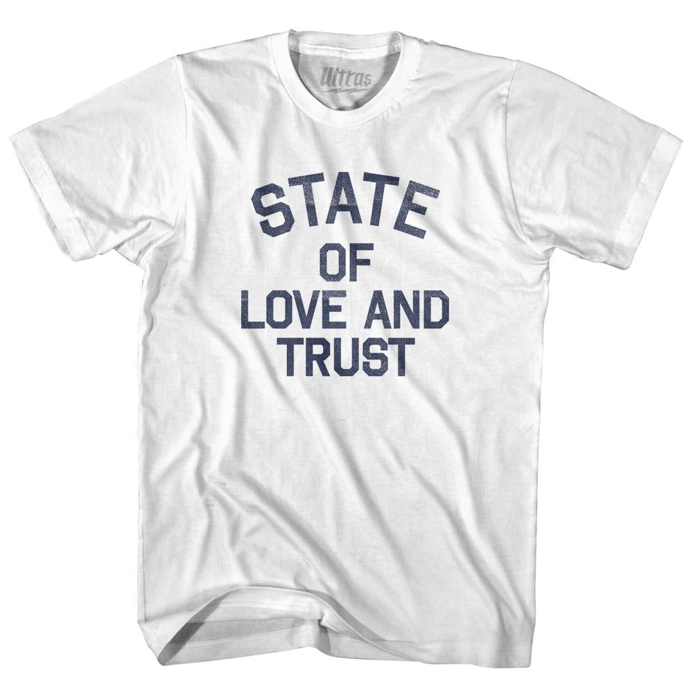 Washington State of Love and Trust Nickname Youth Cotton T-shirt by Ultras