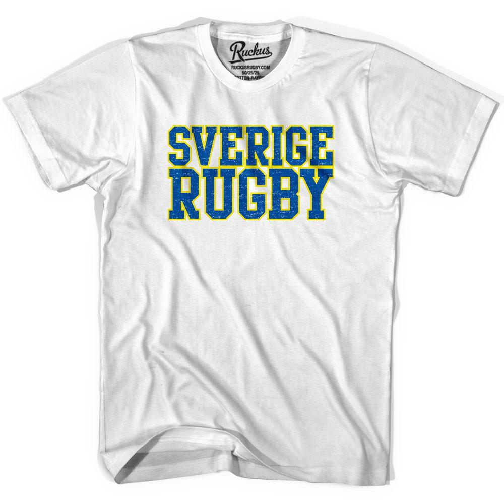 Sverige Rugby Nations T-shirt in Cool Grey by Ruckus Rugby