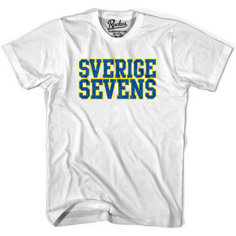 Sweden Seven Rugby Nations T-shirt in Cool Grey by Ruckus Rugby